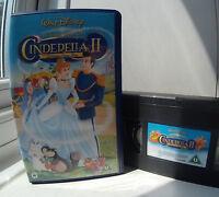 Cinderella II - Dreams Come True Disney VHS Video