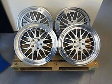 18 Zoll Ultra UA3 Felgen 5x112 Silber für Q5 A6 A7 Q3 A5 Tiguan Mercedes W211 RS