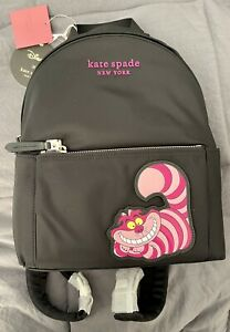 NWT Kate Spade New York CHESHIRE CAT from Alice in Wonderland Backpack Disney