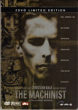 The Machinist - Limited Edition , 2 DVDs Steelbook , 100% uncut , Neuware