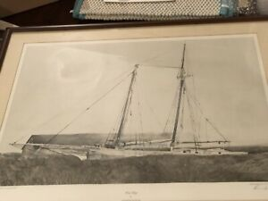 The Slip Pencil Signed by Andrew Wyeth - Framed