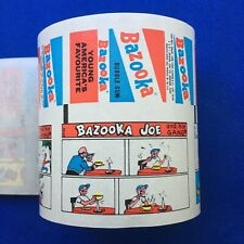 More details for vintage bazooka joe and his gang 14 factory uncut a&bc wax gum wrapper comic set