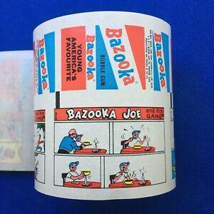 Vintage BAZOOKA JOE and his GANG 14 Factory Uncut A&BC Wax Gum Wrapper Comic Set