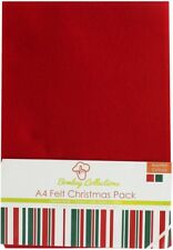 Dovecraft Bombay Collections A4 Felt Christmas Pack (10pcs)