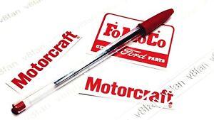#3C MOTORCRAFT stickers SET decals for Escort Mk1/Mk2 Mexico RS2000 Capri Sierra