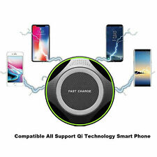 Quick Wireless Charger for all iPhones & for Samsung Phones. Best W-Charger