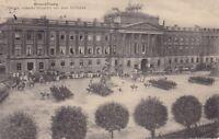 uralte AK, Braunschweig Parade unserer Husaren vor dem Schlosse Feldpost 1915