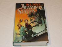 Jack Vance Araminta Station science fiction hard cover book novel #