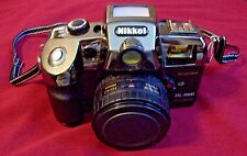 NIKKEI DL-9000 MOTOR DRIVE - RED EYE REDUCTION- FOCUS FREE - OPTICAL LENS CAMERA