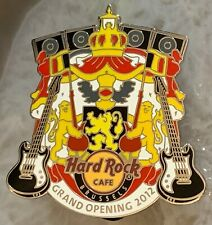 Hard Rock Cafe BRUSSELS 2012 Grand Opening PIN Version #2 GO - LE 500 HRC #68762