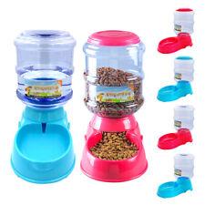 Set Dispenser Cibo Cani+Fontana d'acqua Alimentatore Automatico per cane gatto