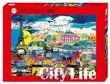 Puzzles et casse-tête multicolores Heye architecture