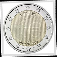 2 EURO  Luxemburg 2009 Luxembourg 10 ans EMU 10 jaar !!