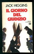 HIGGINS JACK IL GIORNO DEL GIUDIZIO MONDADORI 1985 OSCAR 1841 FERENC PINTER
