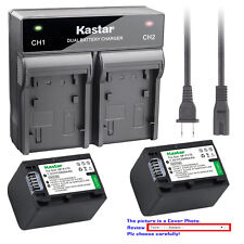 Kastar Battery Rapid Charger for Sony NP-FV70 & Sony FDR-AX33 FDR-AX53 NEX-VG10