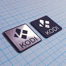 KODI -  Badge Sticker Metallic Set - 2 pieces