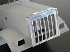 Custom Front Aluminum Grill Grille Guard Shell for Tamiya 1/14 Semi King Hauler