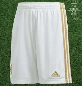 adidas Real Madrid Home Shorts Youth - RMCF Football Short - Kids - All Sizes