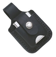 Zippo Pouch Black with Loop, without Lighter