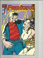 Femforce #53 VFN 1992 AC Comics Good/bad girl Frankenstein US Comics scarce