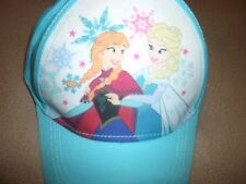 New Disney Frozen Elsa Anna Girls Baseball Cap/Hat w/Snapback OSFM US Seller!