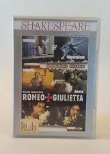 Romeo + Giulietta dvd Shakespeare Leonardo Dicaprio Claire Danes