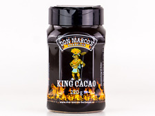 Don Marco`s King Cacao BBQ Barbecue Rub Gewürzmischung Huhn Rind Schwein 220g
