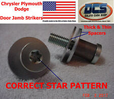 1970 71 72 73 74 75 76 Dart Duster Demon A Body Door Jamb Striker 3454485 MoPar