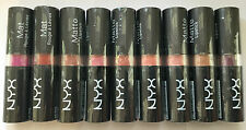 NYX rouge à lèvres mat 19 couleurs au choix