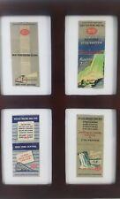 4 1930s/40s New York Central Railroad Line Niagara Falls Advertising Matchbooks