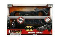 Batman - 1:24 1989 Batmobile Plus Figurine - Build N'Collect - Jada Toys