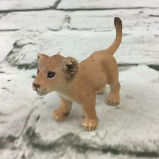 Schleich Lion Cub Figure Realistic Lifelike Wildlife Nature Animal Collectible