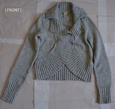 GRAY KNITTED SWEATER by VERTICAL DESIGN - SIZE : S