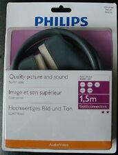 Cable Scart Euroconector Philips SWV4541H  1,5  metros Alta calidad