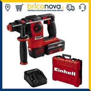 Trapano tassellatore a batteria 18V Herocco Einhell con batteria da 4.0Ah E-box