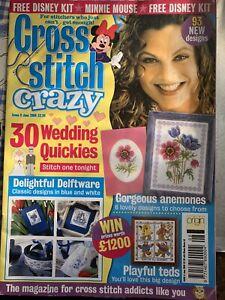 Cross Stitch Crazy Magazine 8 June 2000 Disney Minnie Mouse Chart