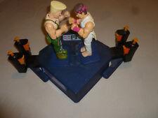 VINTAGE CAPCOM STREET FIGHTER II ELECTRONIC ROCK SOCK EM TIGER GAME SNES 1993 >