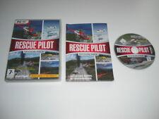 RESCUE PILOT - MISSION PACK Pc DVD Rom Add-On Flight Simulator Sim X  FSX