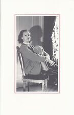 """Sotheby's """"The Greta Garbo Collection"""" Benefit Auction Invitation (11/11/1990)"""