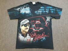 VTG #3 Dale Earnhardt Nascar Racing All Over Print Double Sided T Shirt Medium M