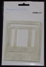 Kaisercraft 'JUST LANDED - FRAME CUT OUTS' Polaroid Embellishments KAISER