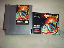Nintendo (NES) Game - CYBERNOID w INSTRUCTIONS - Tested & Working