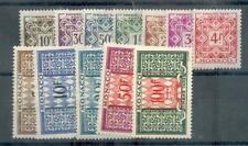 MONACO 1946 TT 29-39 ** 80€ (48207