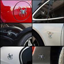 Popular Metal Spider Shape Emblem Chrome 3D Car Truck Motor Decal Sticker DIY CN