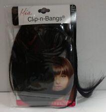 Mia Clip-n-Bangs Instant Bangs, Black