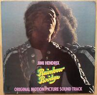 JIMI HENDRIX RAINBOW BRIDGE SOUNDTRACK JAPAN VINYL LP STEREO ALBUM P-8167R