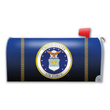 AIR FORCE SEAL LOGO MAILBOX COVER MAGNET  MADE IN USA