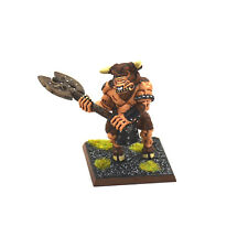 BEASTMEN Minotaur #1 WELL PAINTED METAL Warhammer Fantasy