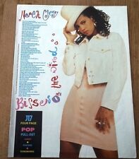 NENEH CHERRY Kisses On Window lyrics magazine PHOTO/Poster/clipping 11x8 inches