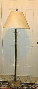 WILLIAMSBURG  VIRGINIA METALCRAFTERS CATHEDRAL FLOOR LAMP